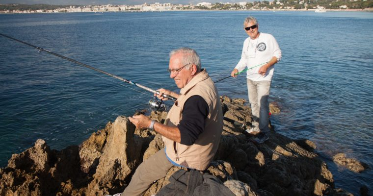 Passing the time in Cap d'Antibes