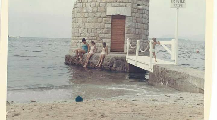 Our childhood beach